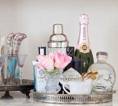 Christine Dovey Home - photos by Ashley Capp - via Style Me Pretty
