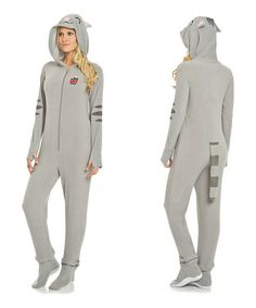 This Gray Big Bang Theory Soft Kitty Footie Pajamas - Women is perfect! #zulilyfinds