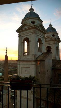 Church at the Spanish Steps, Rome