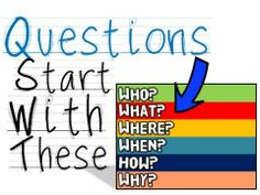"""Questions Start With These (A song for kids about """"asking questions"""") - from Harry Kindergarten's YouTube."""