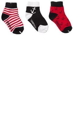 Kid's Nautical Socks Set by Sourpuss Clothing