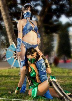 Dos cosplays increibles!! - chicas.joryx.com