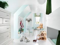 The Finished Room - Unused Attic Space Becomes Boys' Bedroom on HGTV