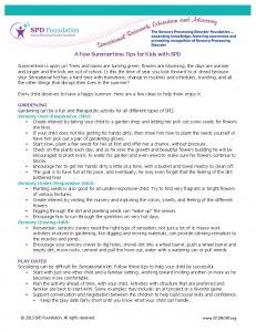 Sensational Summer Time Tips - Pinned by @PediaStaff – Please Visit ht.ly/63sNtfor all our pediatric therapy pins