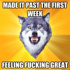 Take some Courage Wolf. Apply vigorously.