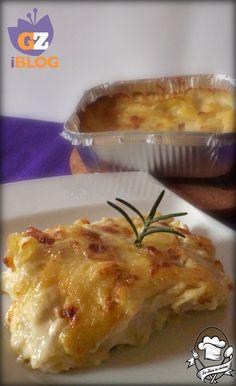 Tortino di patate gratinate