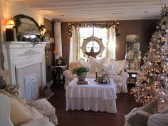 holiday, decor inspir, christma 2011, christma decor, white christmas