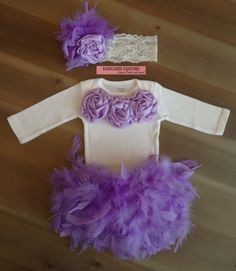 I know a few friends that would love this for their little girl. B day outfit!