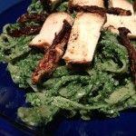 Wild Nettle Pesto! Soooo delicious. #backyardmedicine #weeds #herbs