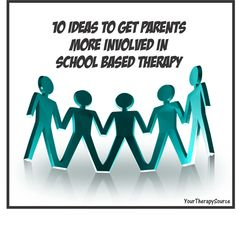 Your Therapy Source - www.YourTherapySource.com: 10 Ideas to Get Parents More Involved! Pinned by SOS Inc. Resources http://pinterest.com/sostherapy.