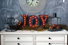 Joy Marquee Sign - f