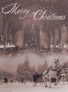 christmas at hogwarts!
