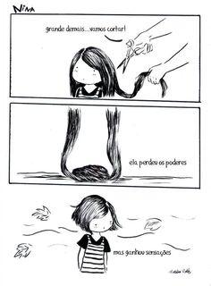 ah, cabelo curto... :)