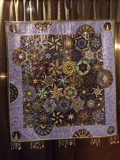 art #quilt with fringe