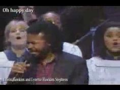 ▶ EDWIN HAWKINS  OH HAPPY DAY !Singers - YouTube  WAS A HIT ON THE RADIO IN THE OLD DAYS!