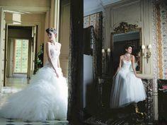 lovely wedding dress by cymbeline