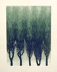 Artist: Leszek Wyczolkowski. Title:Tradition. Year: 1994. Description: etching.