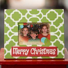 Glory Haus Merry Christmas Frame