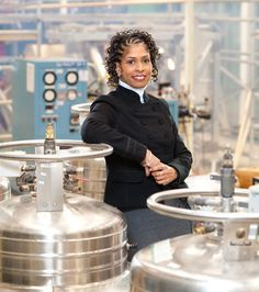 "Dr Aprille Ericsson, MIT graduate, the first female (and first African-American female) to receive a Ph.D. in mechanical engineering from Howard University, the first African-American female to receive a Ph.D. in engineering at the NASA Goddard Space Flight Center, recipient of the 1997 ""Women in Science and Engineering"" award, for the best female engineer in the federal government #science #engineering #inspiration"
