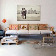 Hipster living rooms on pinterest for Living room ideas hipster