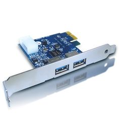 Mediasonic USB 3.0 PCI Express Card HP1-SU3 by Mediasonic. $21.99. The USB 3.0 PCI Express Card can deliver data transfers up to 10 times faster than Hi-Speed (USB 2.0 Standard) in addition to the optimized power efficiency. This capability will enable the quick transfer of rich media and large digital files between PCs and devices.. Save 56% Off!