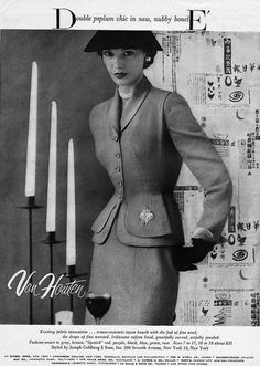 Van Houten 1952 - suit by Joseph Goldberg