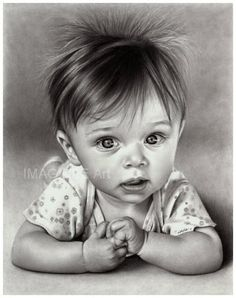 a PENCIL drawing by Linda Huber