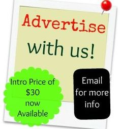 Advertise with us at a introductory monthly rate!