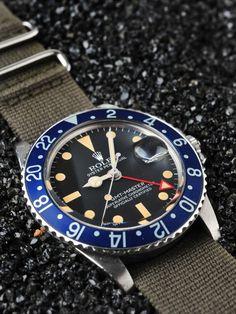 Rolex GMT Master - blue bezel
