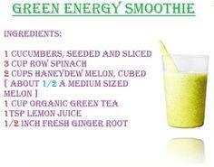 green energy smoothie
