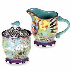 Tracy Porter® Sugar and Creamer Set for Poetic Wanderlust® in Rose Boheme - BedBathandBeyond.com