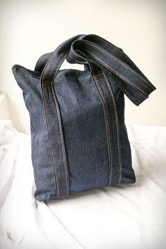 Repurposing old jeans