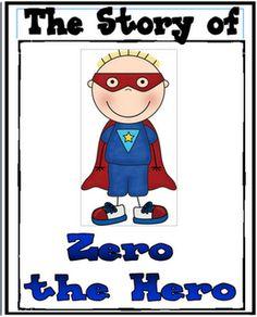 math, 100th, classroom, superhero kindergarten, idea