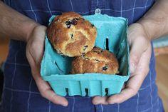 bigBANG studio: Blueberry Cornmeal Muffins