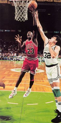 Mike Gets Over McHale, '92.