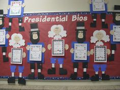 Presidential Biographies and crafts for Abraham Lincoln & George Washington to celebrate Presidents Day. 3rd Grade Classroom Compulsion