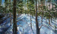 "Ursula Gilgulin. ""Paintings of Winter"" at Avon Public Library"