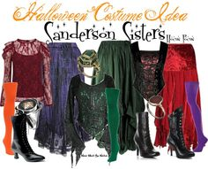 Inspired by the Sanderson Sisters from the 1993 Disney film Hocus Pocus.
