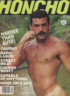 How manly dude, specially the face.    HONCHO Magazine December 1985.    D.R.    Image via MAGAZINE-EMPIRE.COM