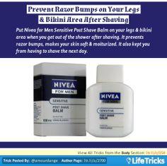 Body - Prevent Razor Bumps on Your Legs & Bikini Area After Shaving