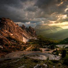 La Croda Rossa Mountains @ Rifugio Auronzo, Italy