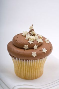 Yummy Cupcakes with stars, maybe different colors