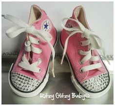 Infant Bling Converse, you pick the color!