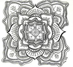 Detailed Coloring Pages for Adults | Making mandala art is healing, transformative, and addicting – just ...