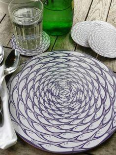 Sardine Run Coasters & Placemats