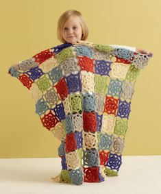Summer Flower Baby Throw