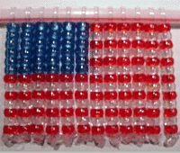 This US Flag beaded suncatcher is an ideal way to share some patriotic spirit with your kids while adding a little history to your home for Independence Day, Memorial Day or Flag Day.