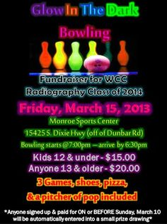 bowling fundraiser on pinterest team gifts bowls and events. Black Bedroom Furniture Sets. Home Design Ideas