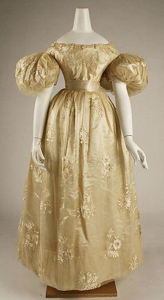 1834 wedding dress