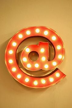 @ Symbol Marquee Light- love!